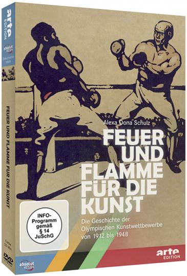 Feuer und Flamme für die Kunst. Die Geschichte der Olympischen Kunstwettbewerbe von 1912 bis 1948.