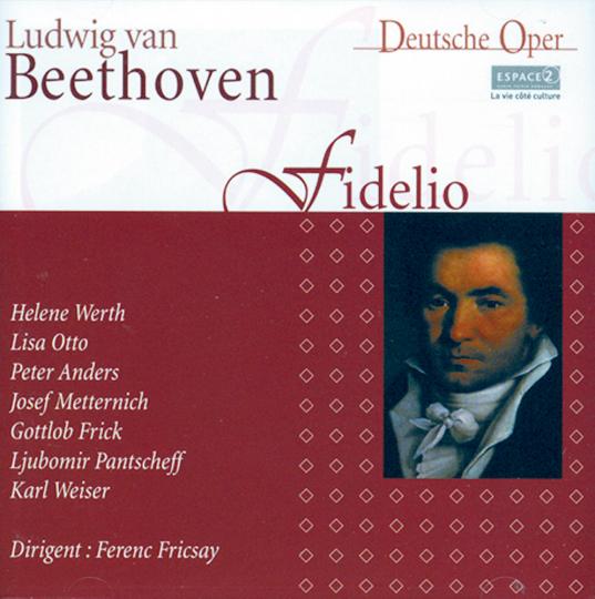 Beethoven, Fidelio (Genf 1951). 2 CDs.