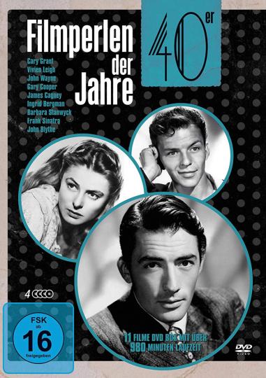 Filmperlen der 40er Jahre (11 Filme). 4 DVDs.