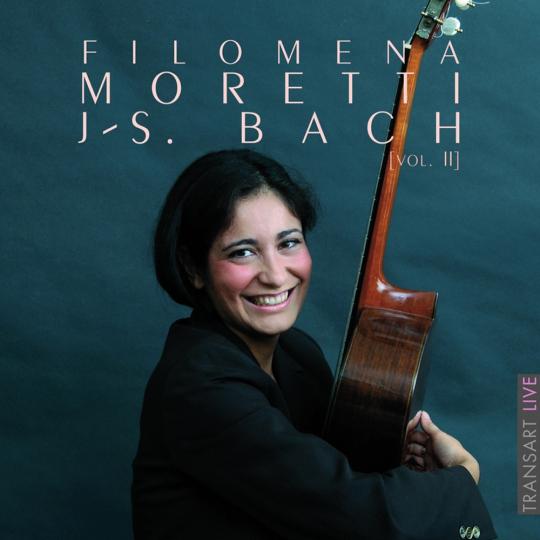 Filomena Moretti spielt Bach. Vol. 2. CD.