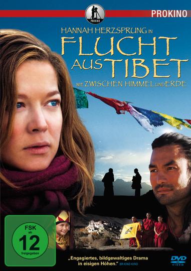 Flucht aus Tibet. Wie zwischen Himmel und Erde. DVD.