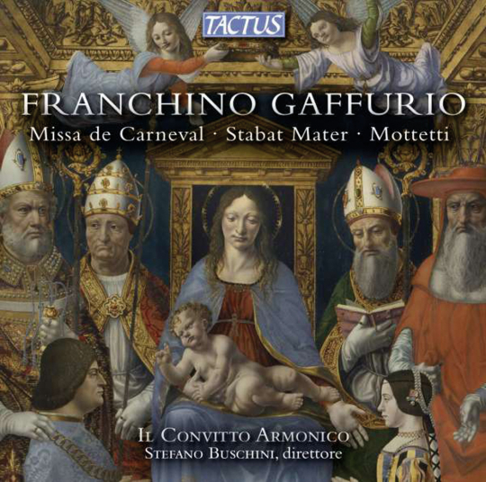 Franchino Gaffurio (1451-1522). Missa de Carneval. CD.