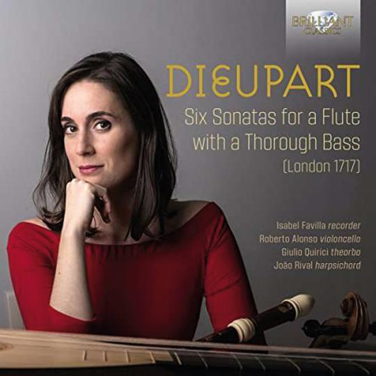 Francis Charles Dieupart. Sonaten Nr.1-6 für Blockflöte & Generalbass. CD.