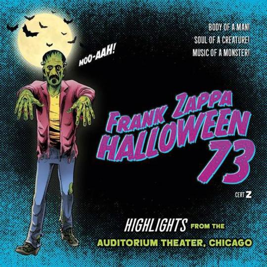 Frank Zappa. Halloween '73. CD.