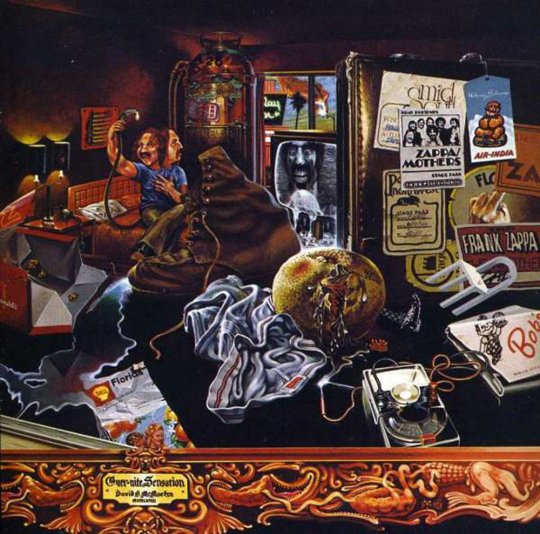 Frank Zappa. Over-Nite Sensation. CD.
