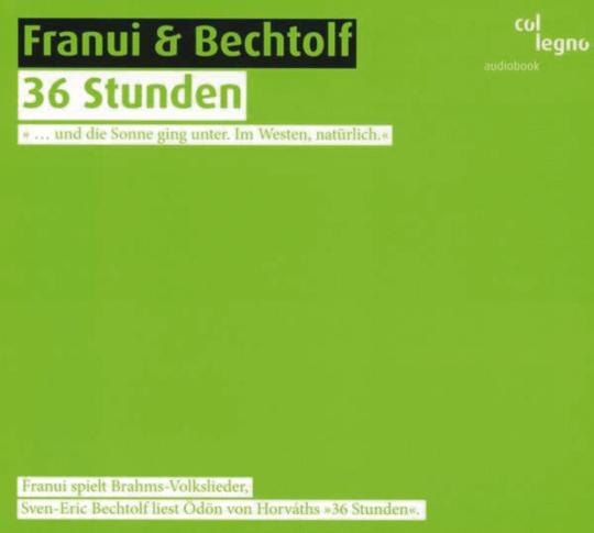 Franui & Bechtolf. 36 Stunden. CD.