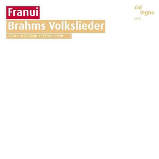 Franui. Brahms Volkslieder. CD.