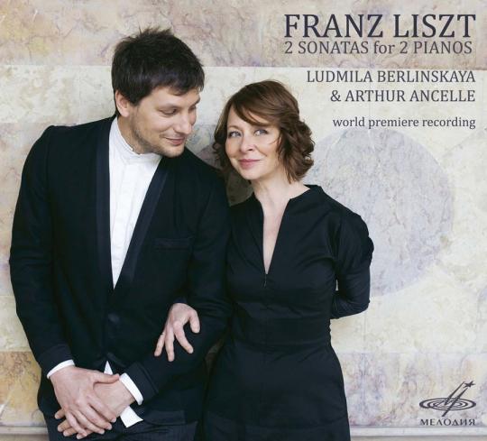 Franz Liszt. 2 Sonaten für 2 Klaviere. CD.
