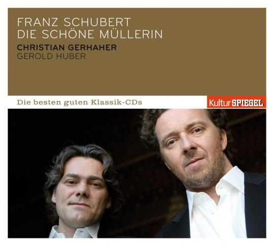 Franz Schubert. Die schöne Müllerin op. 25 D 795. CD.