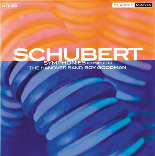 Franz Schubert. Symphonien. 4 CDs.