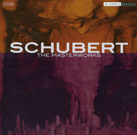 Franz Schubert. The Masterworks. 25 CDs.