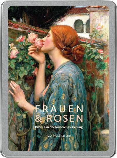 Frauen und Rosen. Bilder einer besonderen Beziehung. Postkarten-Set.