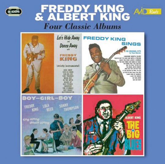 Freddy King & Albert King. Four Classic Albums. 2 CDs.