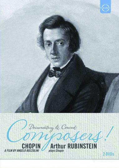 Frederic Chopin. Chopin & Arthur Rubinstein plays Chopin. 2 DVDs.