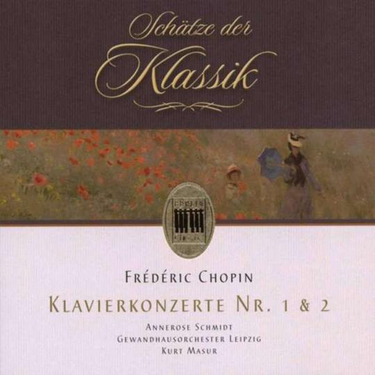 Frederic Chopin. Klavierkonzerte Nr. 1 & 2. CD.