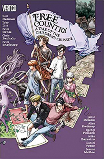 Free Country. A Tale of the Children's Crusade. Comic.
