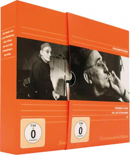 Friedrich Gulda: Die Live-Aufnahmen. 8DVDs.