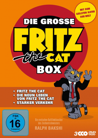 Fritz the Cat Box. 3 DVDs.