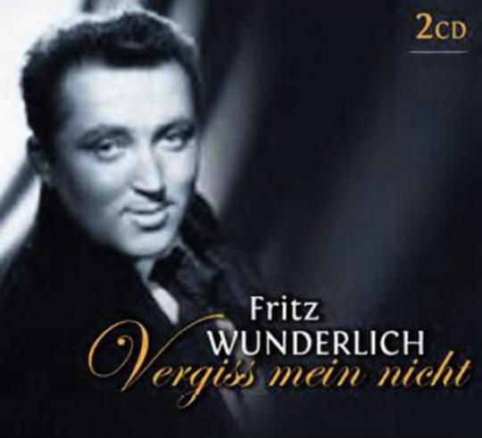 Fritz Wunderlich. Vergiss mein nicht. 2 CDs.