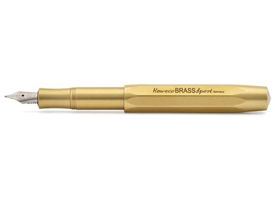 Füllfederhalter »Brass Sport«, M, Messing.