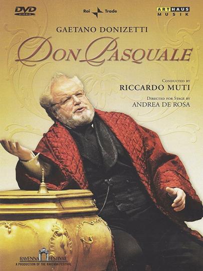 Gaetano Donizetti. Don Pasquale. DVD.