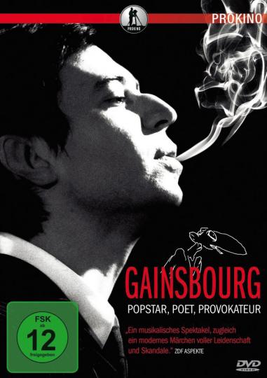 Gainsbourg. Popstar, Poet, Provokateur. DVD.