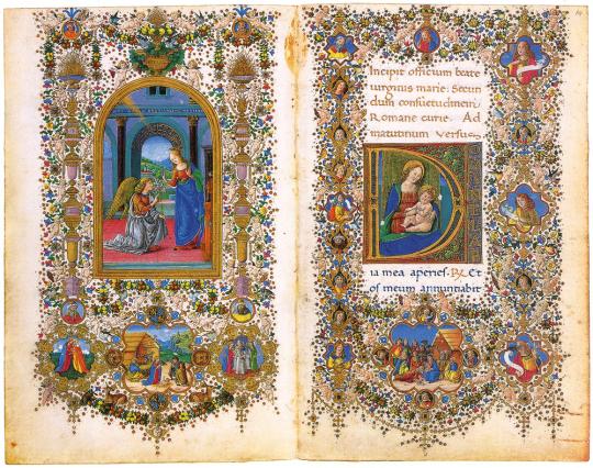 Gebetbuch des Lorenzo de Medici 1485. Faksimile und Kommentarband. Limitierte und nummerierte Auflage.