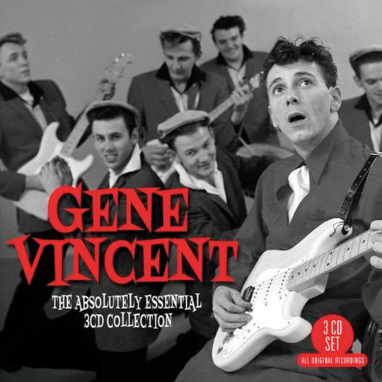 Gene Vincent. The Absolutely Essential Collection. 3 CDs.
