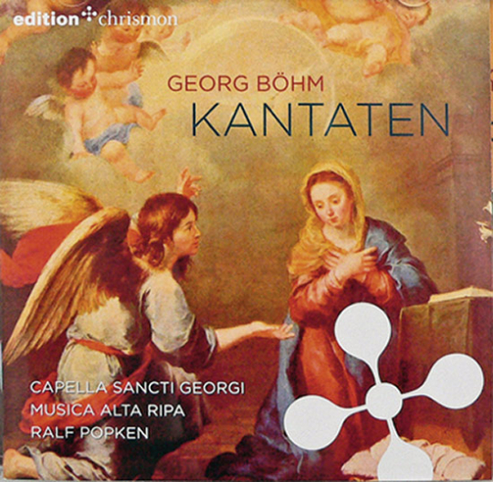 Georg Böhm. Kantaten. CD.