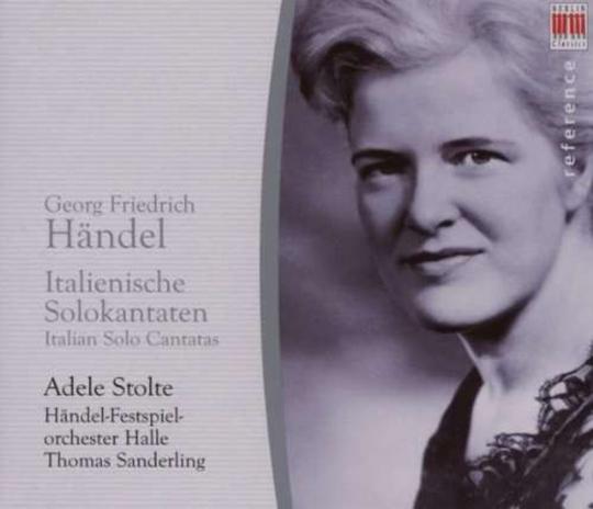 Georg Friedrich Händel. Italienische Kantaten für Sopran. CD.