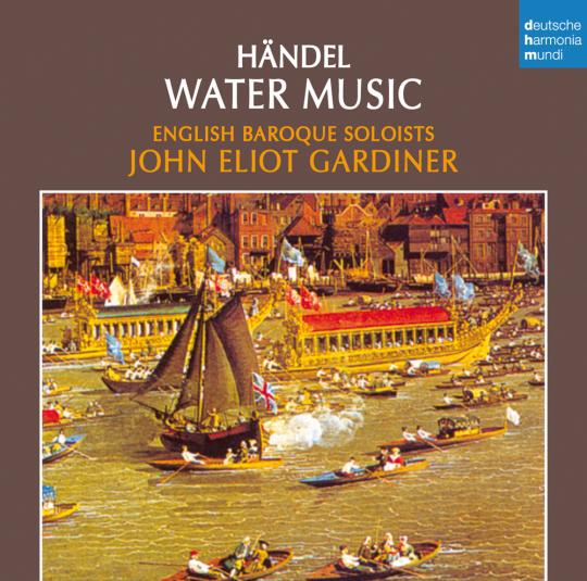 Georg Friedrich Händel. Wassermusik. CD.