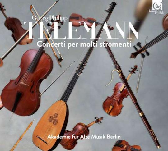 Georg Philipp Telemann. Concerti per molti stromenti. CD.