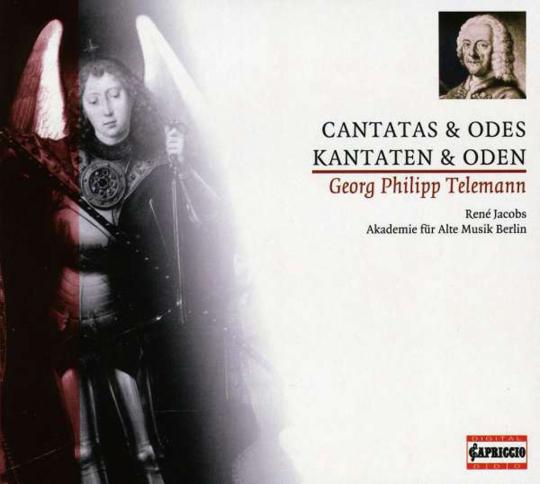 Georg Philipp Telemann. Kantaten & Oden. CD.