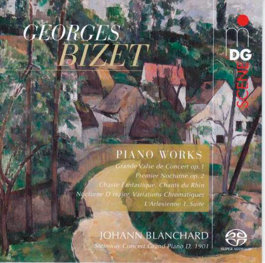Georges Bizet. Klavierwerke. SACD.