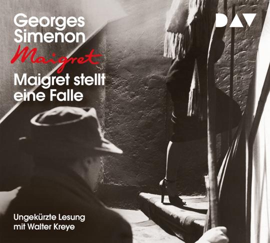 Georges Simenon. Maigret stellt eine Falle. 4 CDs.