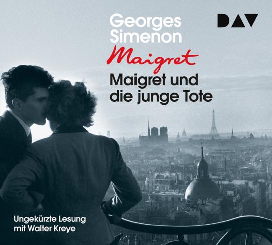 Georges Simenon. Maigret und die junge Tote. 4 CDs.