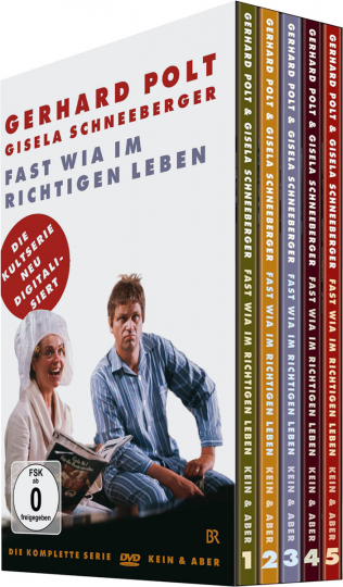 Gerhard Polt. Fast wia im richtigen Leben (Komplette Serie). 5 DVDs.
