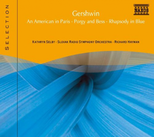 Gershwin. Rhapsody in Blue, An American in Paris, Porgy & Bess. CD.