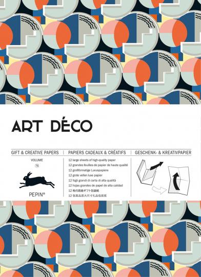 Geschenkpapier »Art Déco«. Neue Muster.