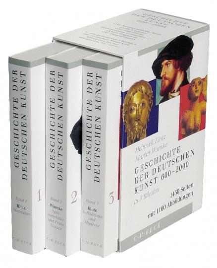 Geschichte der deutschen Kunst. Drei Bände.