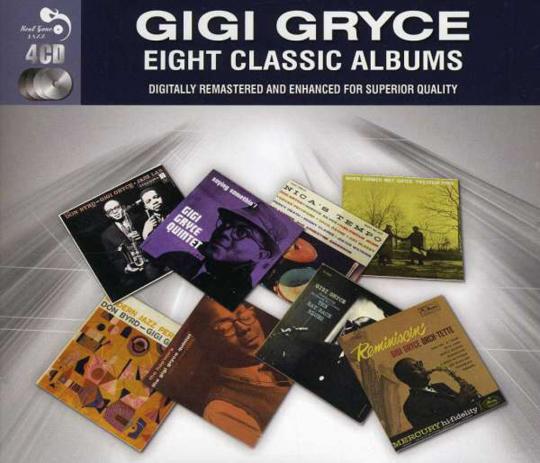 Gigi Gryce. Eight Classic Albums. 4 CDs.