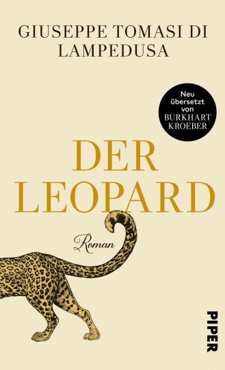 Giuseppe Tomasi di Lampedusa. Der Leopard. Roman.