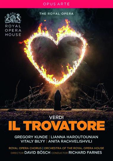 Giuseppe Verdi. Il Trovatore. DVD.