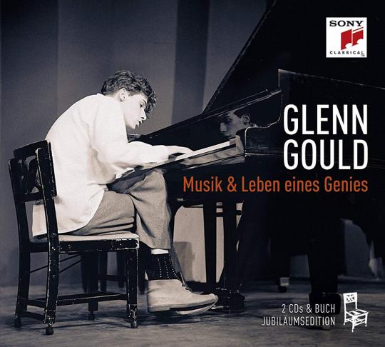 Glenn Gould. Musik & Leben eines Genies. 2 CDs + Buch.