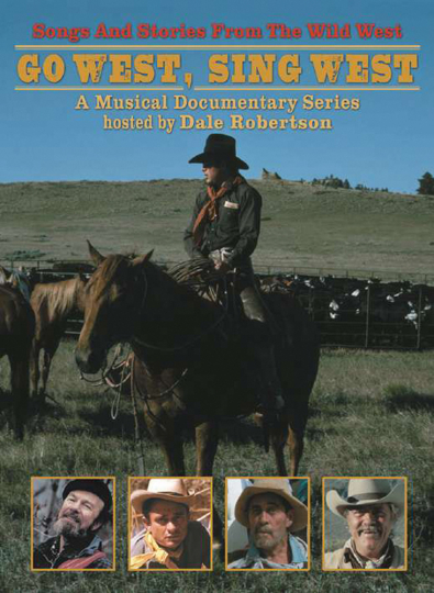 Go West, Sing West. Songs und Stories aus dem Wilden Westen. 2 DVDs.