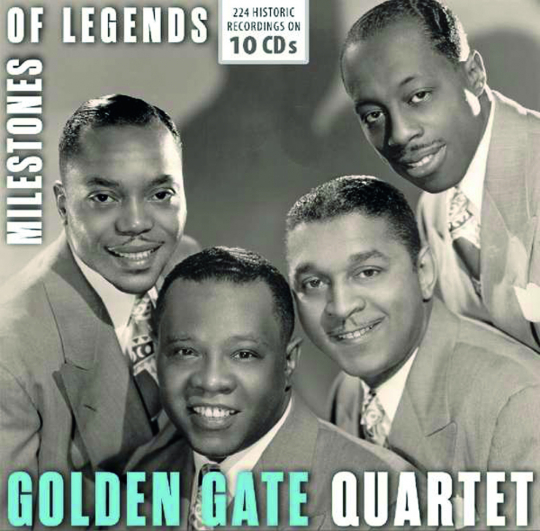 Golden Gate Quartet. Milestones of legends. 10 CDs.