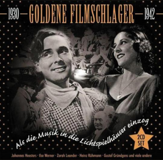 Goldene Filmschlager 1930-1942. 2 CDs.