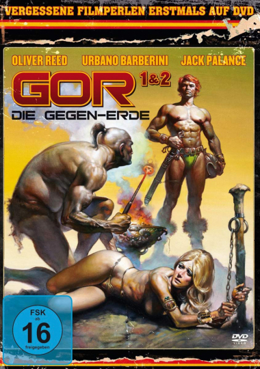 Gor 1 & 2. DVD.