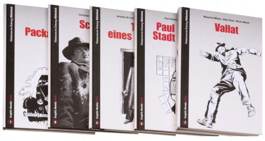Graphic Novel Krimi Paket. 5 Bände.