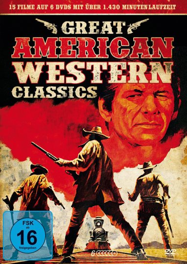 Great American Western Classics. 6 DVDs.